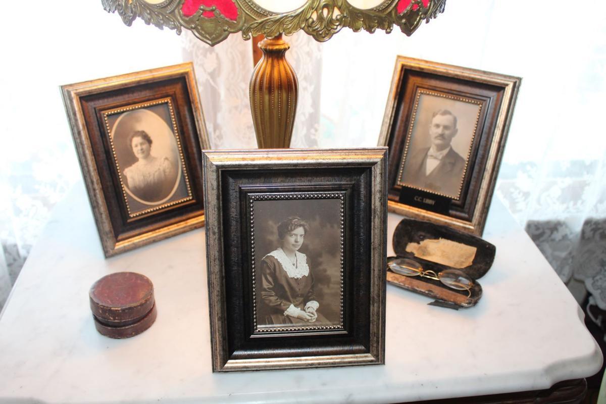 Photos of the Libby family at the inn