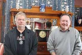 Innkeepers Paul Stream and Bob Marcey